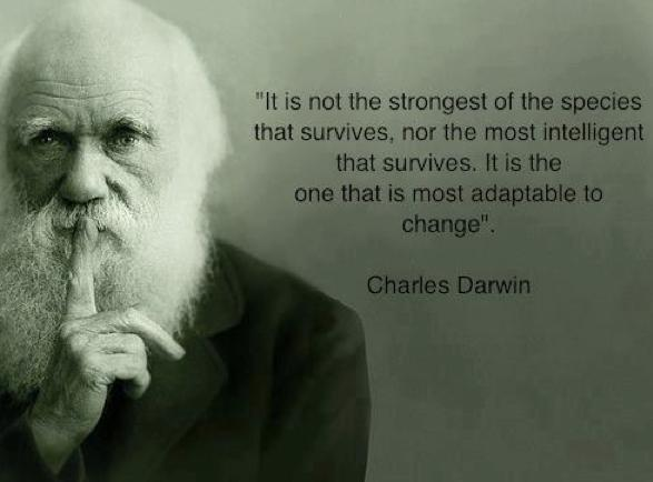 charles darwin change