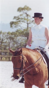 In Japan where I was blessed to ride beautifully trained horses from Europe and live with a beautiful culture of people