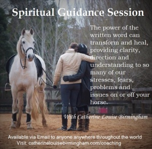 Spiritual Guidance Session with Catherine Louise Birmingham